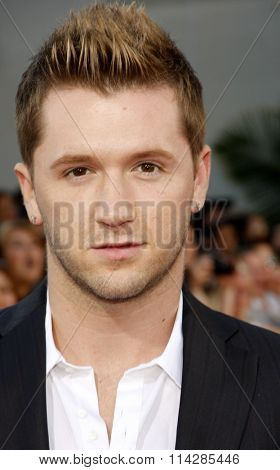Travis Wall at the Los Angeles premiere of