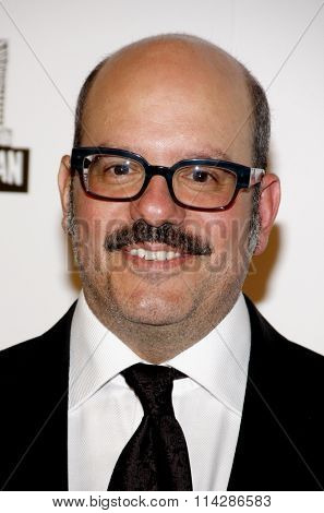 David Cross at the 26th American Cinematheque Award Honoring Ben Stiller held at the Beverly Hilton Hotel in Los Angeles, California, United States on November 15, 2012.