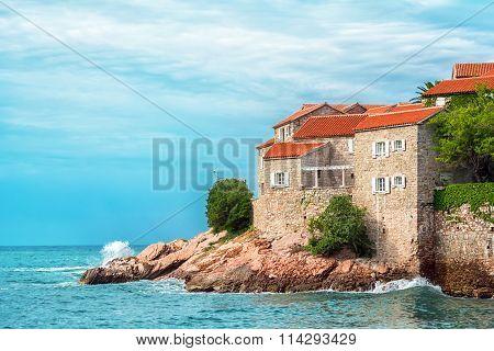 Sveti Stefan Hotel Island