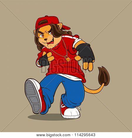 Hip Hop lion
