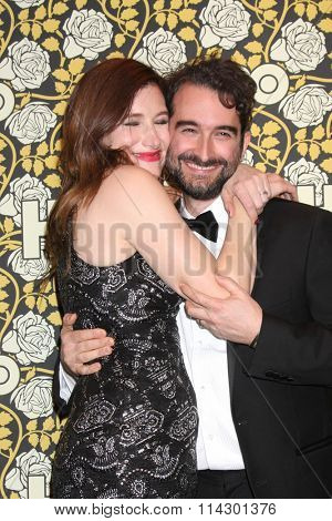 LOS ANGELES - JAN 10:  Kathryn Hahn, Jay Duplass at the HBO Golden Globes After Party 2016 at the Beverly Hilton on January 10, 2016 in Beverly Hills, CA