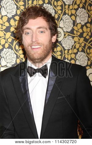 LOS ANGELES - JAN 10:  Thomas Middleditch at the HBO Golden Globes After Party 2016 at the Beverly Hilton on January 10, 2016 in Beverly Hills, CA