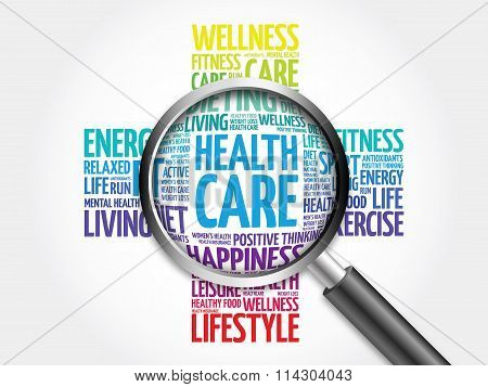 Health care word cloud