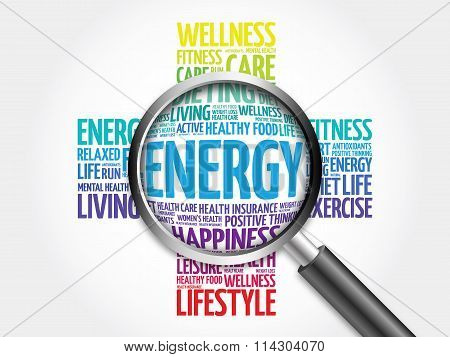 ENERGY word cloud