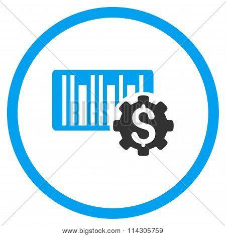 Barcode Price Setup Icon