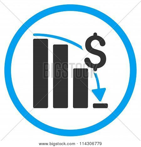 Financial Crisis Icon