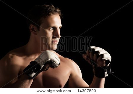Caucasian Male Fighter