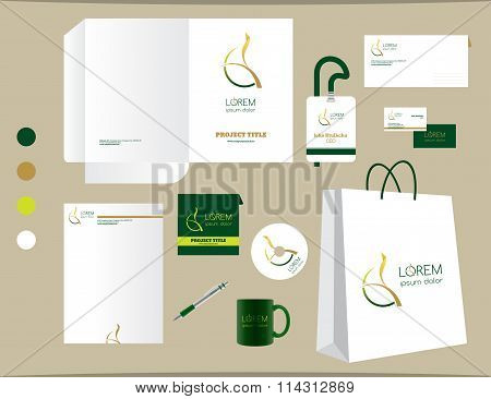 Stationery Template Design Set