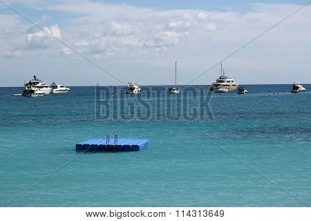 Yachts Sailing Boats And Pier