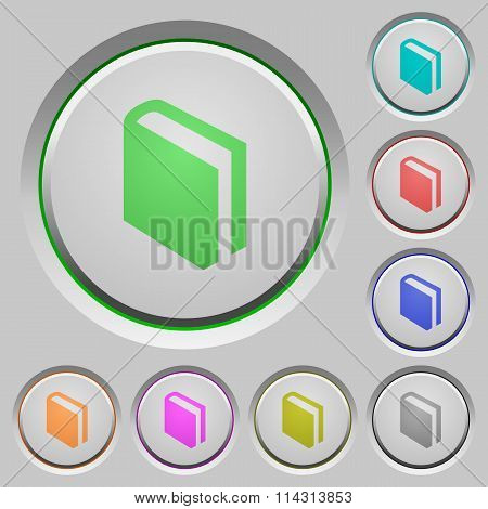 Book Push Buttons