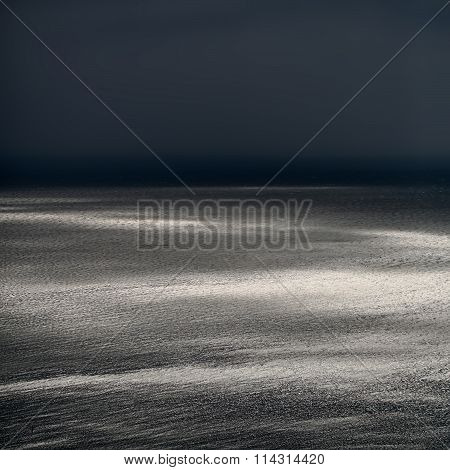 Spectacular Seascape In Dusk