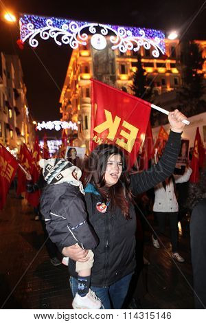 Women's Day in Turkey.