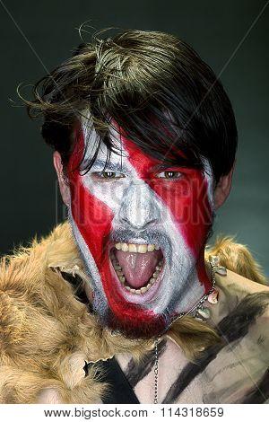 Furious Man Portrait