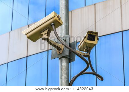 Security camera for urban any events monitoring.