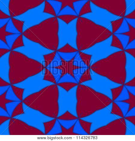 Kaleidoscopic decorative seamless colorful pattern