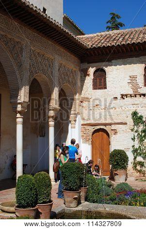 Generalife building, Alhambra Palace.