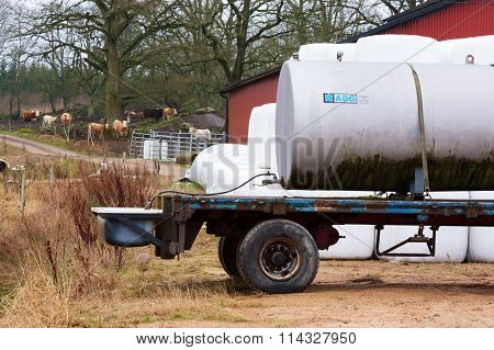 Mobile Water Cistern