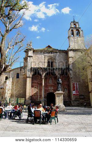Santo Domingo Church, Granada.