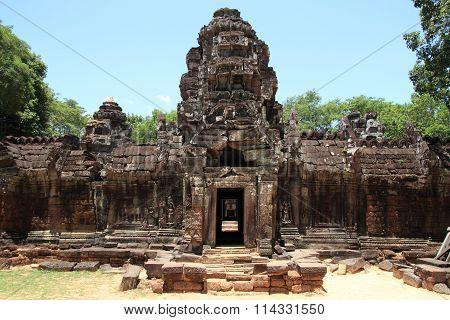 Ta Som in Angkor Siem Reap Cambodia