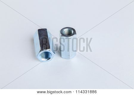 Joiner's accessories. Nuts, bolts, washers, various accessories.