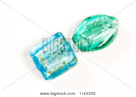 The  Blue  Beads From Glass