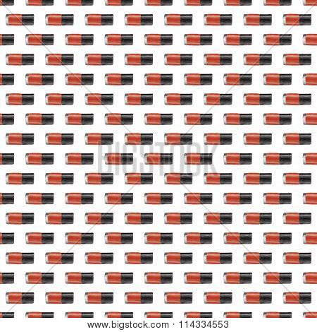 Red Nail Polish Seamless Pattern
