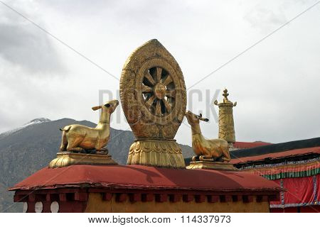 Teachings of Buddha at Jokhang temple Tibet People's Republic of China