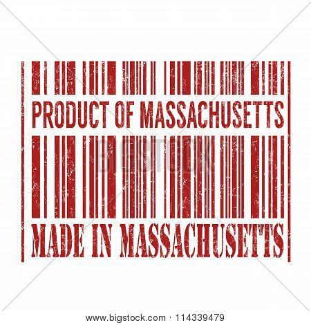 Product Of Massachusetts, Made In Massachusetts Barcode
