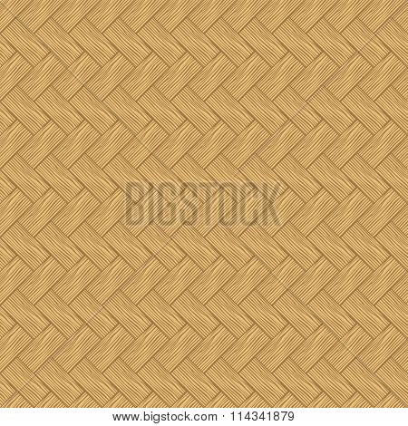 Seamless Texture Of Light Wood Parquet.