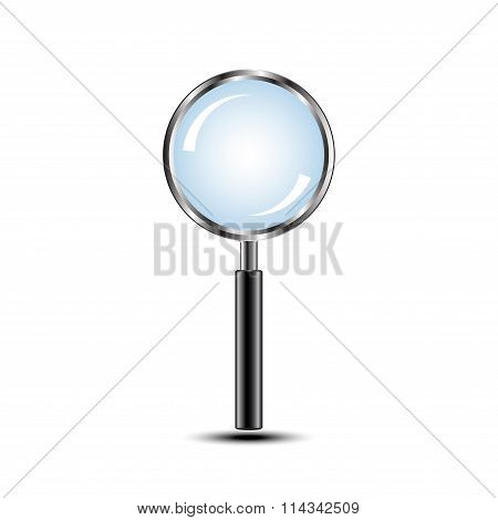 Magnifying Glass Isolated