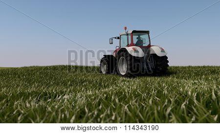general tractor in field