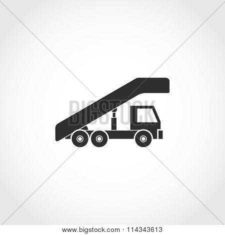 plane ladder icon