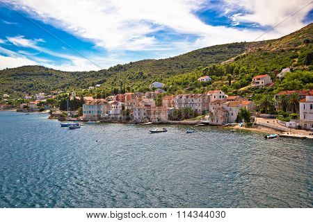 Old Mediterranean Town Of Vis