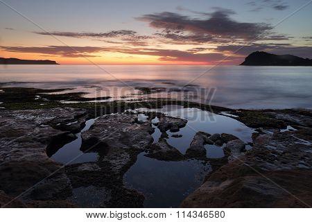Dawn Skies From Green Point Pearl Beach