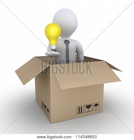 Shipment Of A Business Idea