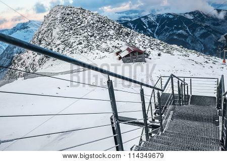 Winter Landscape On Ski Areal Jasna In Slovak Republic.chopok Mountain 2024M Winter Landscape On Ski