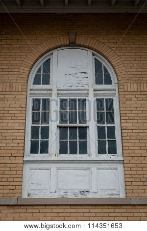 Old Arched Window