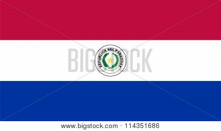 Standard Proportions For Paraguay Flag