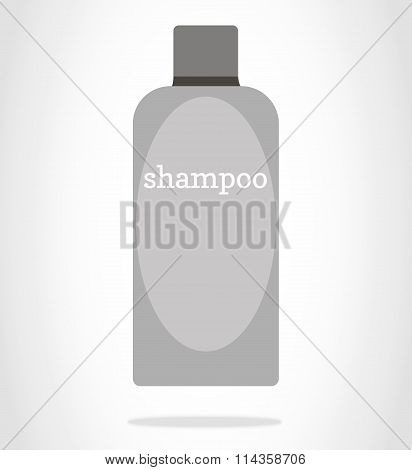 A bottle of shampoo