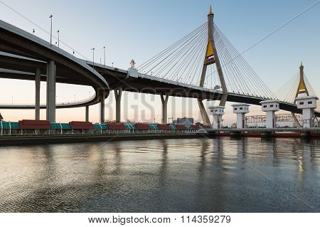 Industrial Ring Road Suspension Bridge