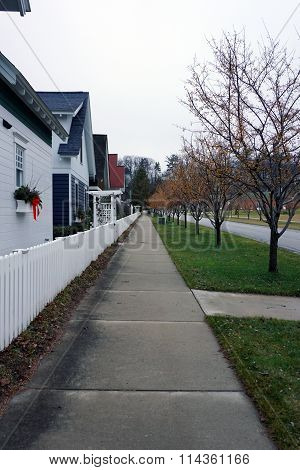 Zoll Street Sidewalk