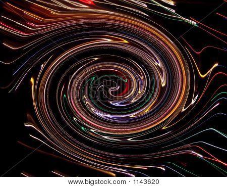 Neon Twirl
