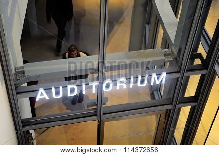Entry Of A Modern Auditorium