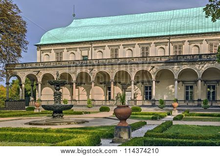 Belvedere, Royal Or Queen Anne's Summer Palace, Prague