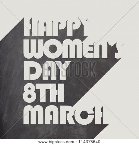 Poster, Banner or Flyer for 8th March, Happy International Women's Day celebration.