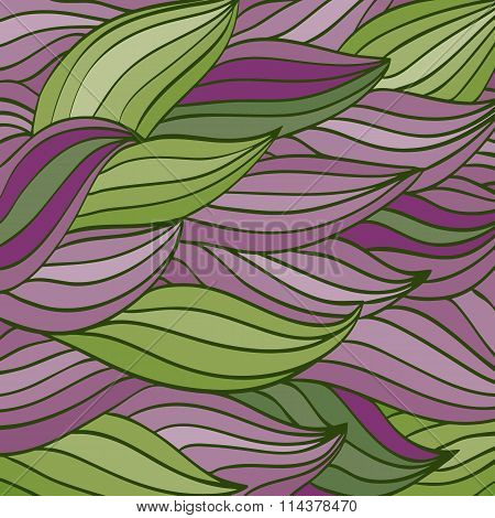 Bright Color Vector Pattern Of The Waves