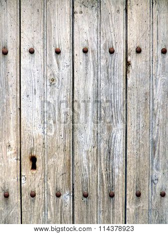 Weathered aged grey wood texture