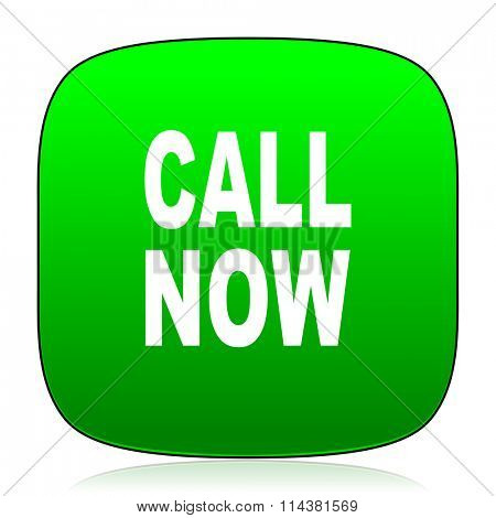 call now green icon for web and mobile app