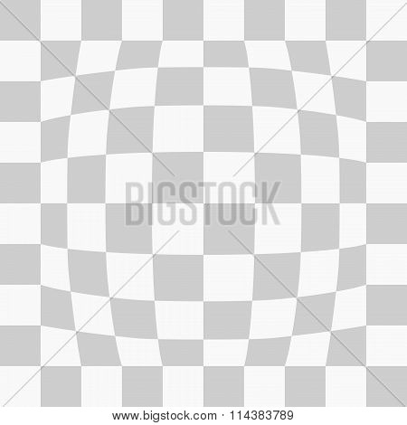 Squares cell sheet pattern background. Circle