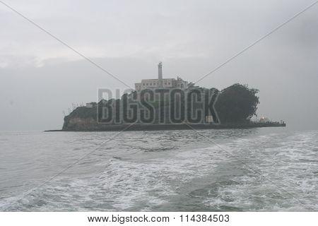 Alcatraz in a Fog